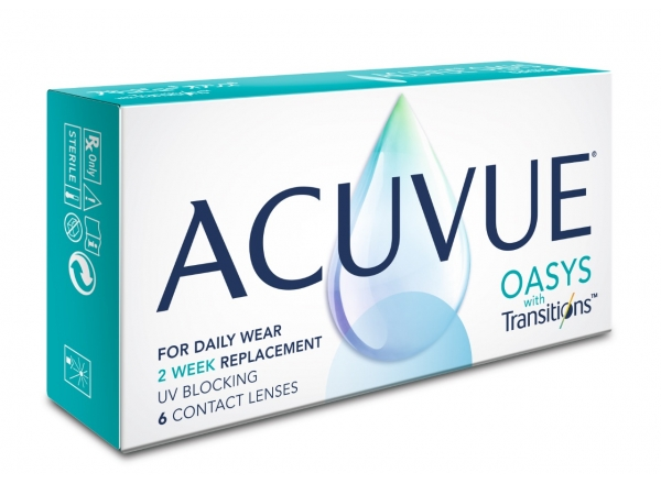 ACUVUE OASIS®️ WITH TRANSITIONS
