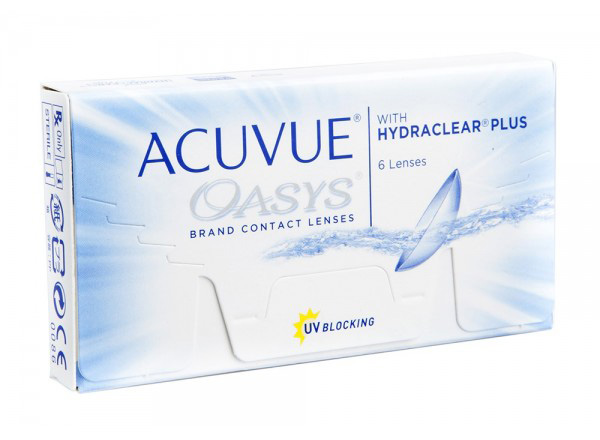 ACUVUE OASYS®️ WITH HYDRACLEAR PLUS 6