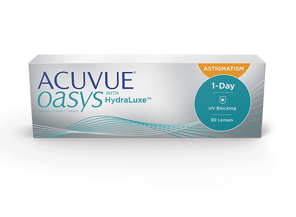 ACUVUE OASYS®️ 1-DAY WITH HYDRALUXE 30