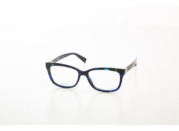 Женская стильная черно-синяя оправа Max&Co (Италия)