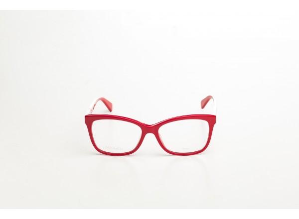 Женская стильная ярко-красная оправа Max&Co (Италия)