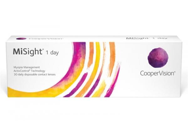 Контактные линзы для детей CooperVision MiSight 1day