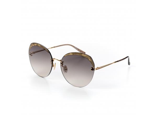 Темные солнцезащитные очки Max Mara