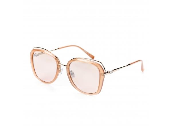Розовые солнцезащитные очки Max Mara