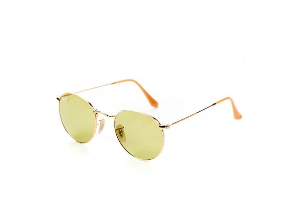 Зеленые солнцезащитные женские очки Ray Ban